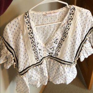 Zara blouse size small